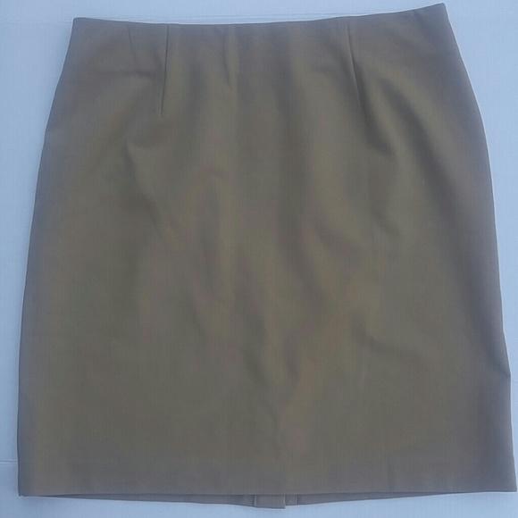 e00a653ff9 J. Jill Skirts | Jjill Career Elastic Waistband Stretch Skirt Sz M ...